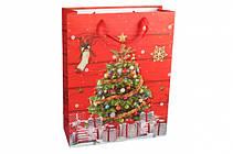 Новогодние пакеты 31 см х 12 см х 40 см