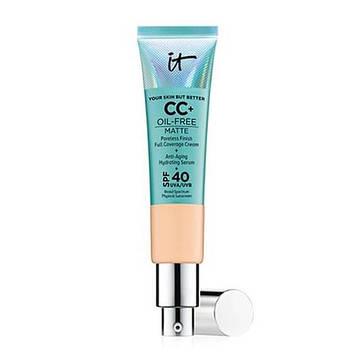 СС-крем IT Cosmetics Your Skin But Better CC+ Oil-Free Matte with SPF 40 UVA Medium Уценка!