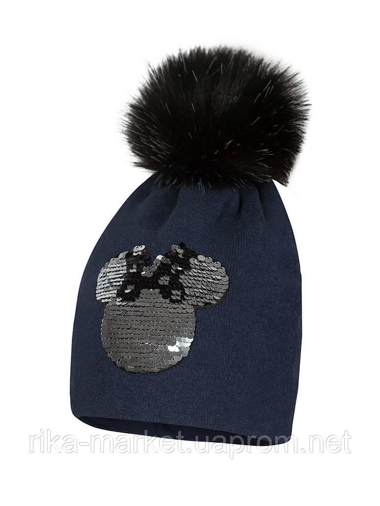 Зимняя шапка для девочки арт.MARCELLA р.49,51