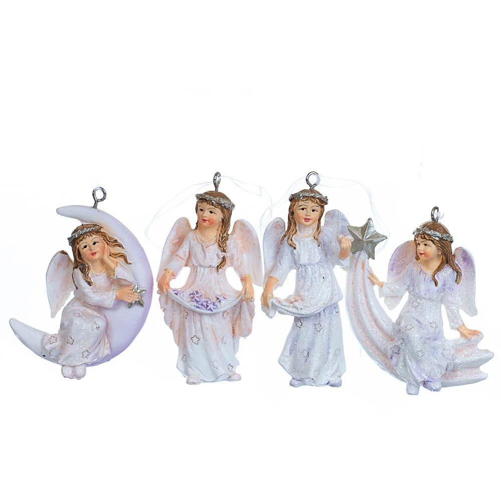 """Подвески """"Ангелы"""", в упаковке 12шт. (2007-063)"""