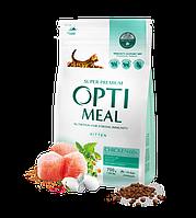 Сухой корм Optimeal Оптимил для котят с курицей, 700 гр