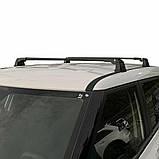 Багажник Ford Connect 2002- в штатные места черный, фото 4