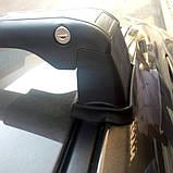 Багажник Ford Connect 2002- в штатные места черный, фото 6