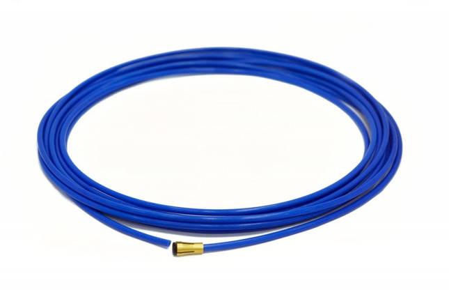 Подающий тефлоновый канал (синий) под алюминий 0,8-1,0 мм, фото 2
