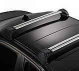 Багажник Peugeot Bipper 2008- в штатные места хром, фото 2