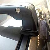 Багажник Volkswagen T5 Transporter 2003- в штатные места хром, фото 4