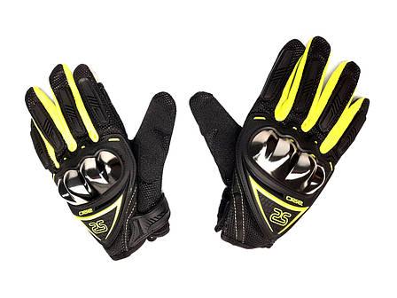 Перчатки AXIO AX-01 сенсорный палец (size: M, зеленые), фото 2