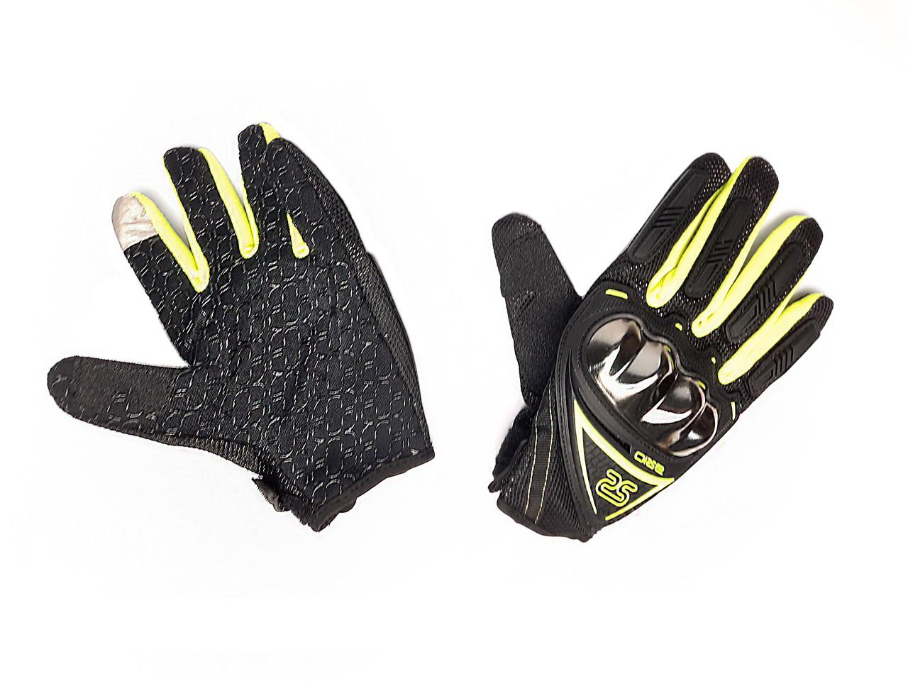 Перчатки AXIO AX-01 сенсорный палец (size: M, зеленые)