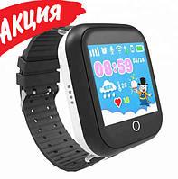 Детские умные смарт часы c GPS Smart Baby Watch Q100 с прослушкой Часы-телефон для детей c трекером + игра
