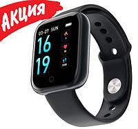 Фитнес браслет трекер Smart Band T80 Умные спортивные смарт часы для здоровья с тонометром шагомером IP67