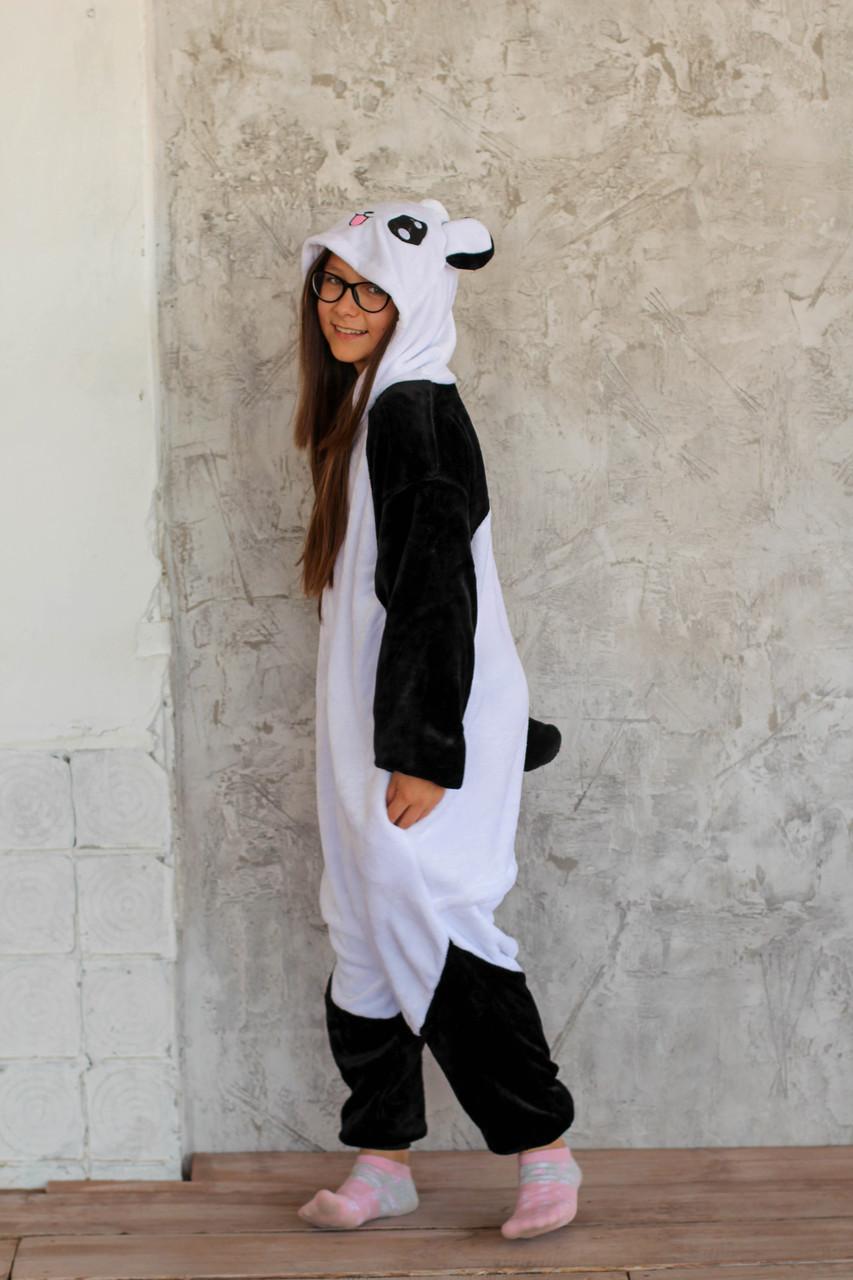 Пижама кигуруми для детей Панда Funny Mood