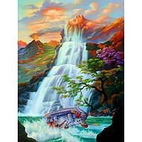 """Картина по номерам на дереве """"Водопад"""" 40*50 см, ТМ Josef Otten (3122RAD)"""