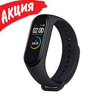 Фитнес браслет трекер Xiaomi mi band 5 Умные спортивные смарт часы для здоровья с тонометром шагомером копия