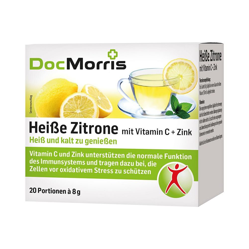 Горячий напиток от простуди DocMorris Vitamin C + Zink, 20 шт.