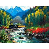 "Картина по номерам на дереве ""Горы"" 40*50 см, ТМ Josef Otten (8327RSBD)"