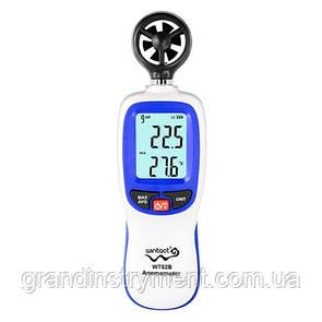 Анемометр, Bluetooth 0,3-30м/с, -10-45°C  WINTACT WT82B