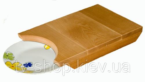 Доска разделочная под тарелку Лаврушка