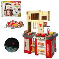 Детский игровой набор интерактивная кухня 922-103 плита духовка мойка посуда звук