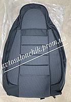 Автомобильные чехлы на ВАЗ 2108 2109 21099 2113 2114 2115 фирмы Пилот авточехлы на сидения черные