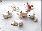 3D Форма силиконовая молд олененок олень мама оленят молд для мыла шоколада мастики, фото 4