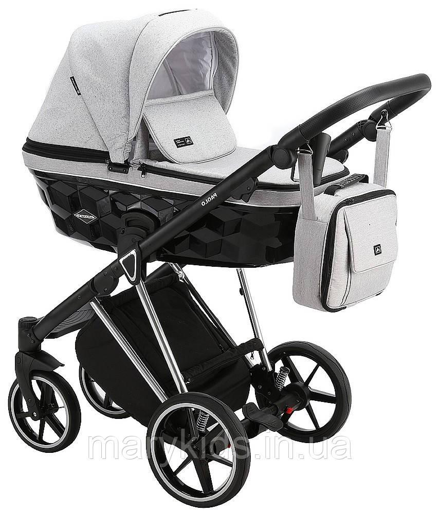 Детская универсальная коляска 2 в 1 Adamex Paolo DW-504