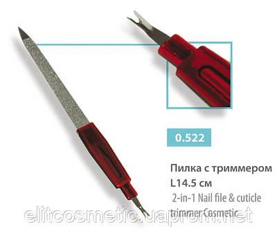 Пилочка металлическая с лопаткой для кутикулы SPL, Cosmetic 0522