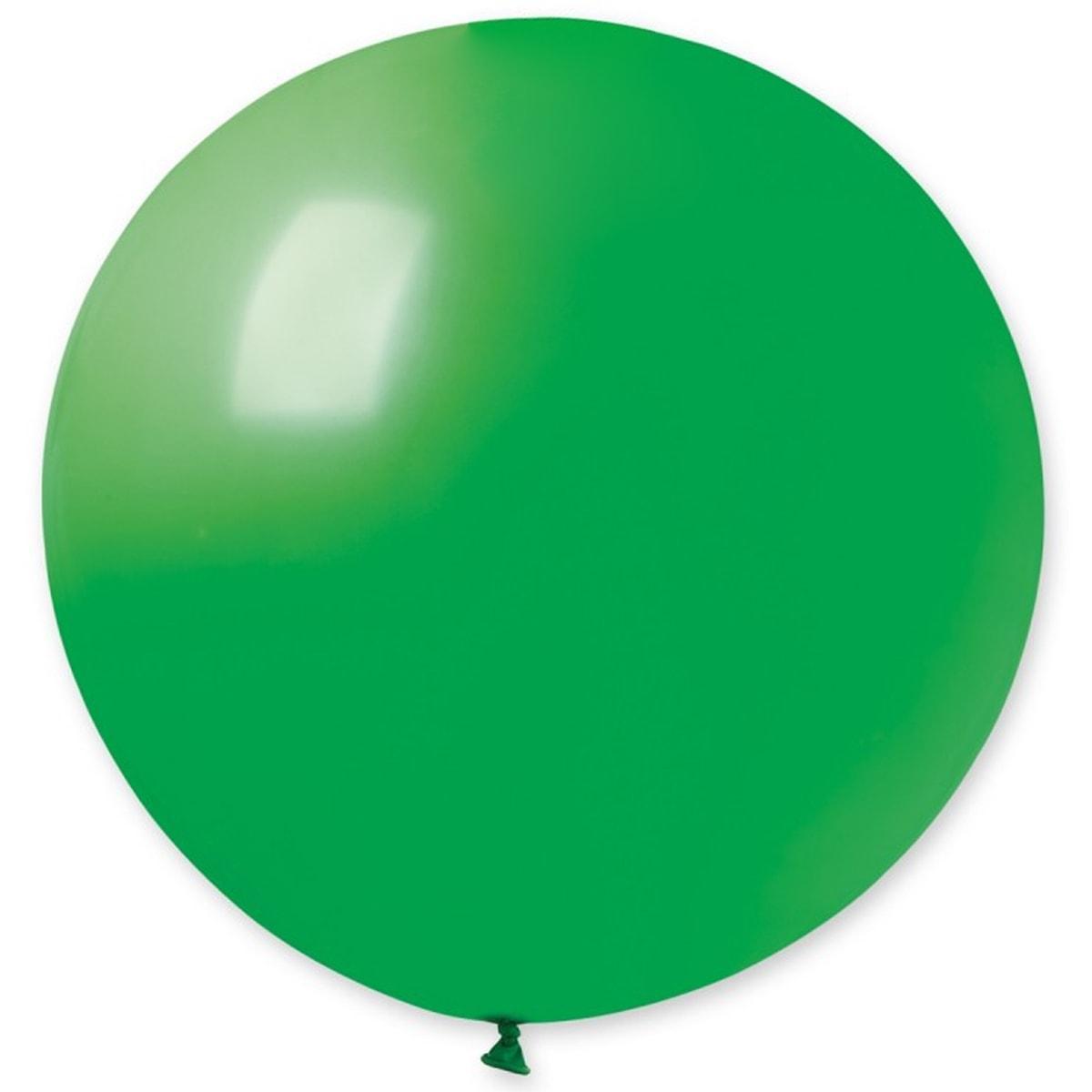 Воздушный шар 31' пастель Gemar G220-12 Зеленый, без полосок (80 см)