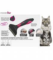 Фурминатор Croci POWERfur для длинношерстных котов, S