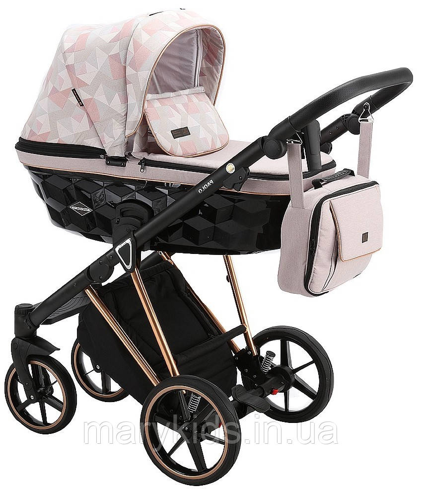 Детская универсальная коляска 2 в 1 Adamex Paolo DW-515
