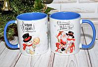 Керамическая Чашка С Новым Годом. Кружка С Новым Годом., фото 1