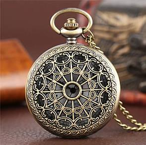 Мужские часы карманные на цепочке отличный подарок, фото 2