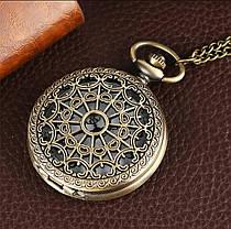 Мужские часы карманные на цепочке отличный подарок, фото 3