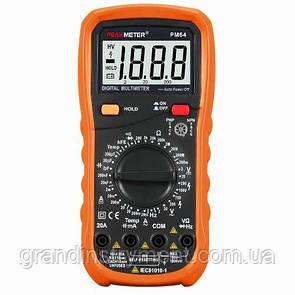 Цифровой мультиметр с термопарой PROTESTER PM64