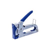 Степлер механический с обрезиненной ручкой, 4-8мм (под скобу 0,7мм) СТАНДАРТ SGL0408