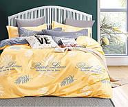 """Семейный комплект (Бязь)   Постельное белье от производителя """"Королева Ночи""""   Листья на желтом, фото 2"""