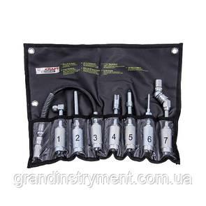 Набор аксессуаров для шприц-масленки  7ед. G.I. KRAFT K-410