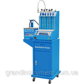 Установка для диагностики и чистки форсунок (6 форсунок, тележка, ультразвуковая ванна с таймером) G.I. KRAFT GI19113