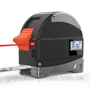 Дальномер лазерный/рулетка 2-в-1 5м/30м PROTESTER LT30B