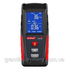 Тестер электромагнитного излучения (1-1999В/м, 0,01-99,9μt)  WINTACT WT3121