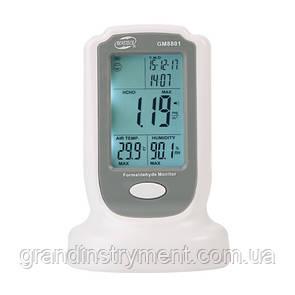 Монитор формальдегида (HCHO, 0-50°C, 10-90%)  BENETECH GM8801