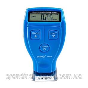 Толщиномер лакокрасочных покрытий Fe/nFe, 0-1800мкм  WINTACT WT200A