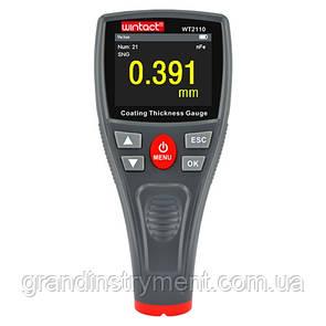 Толщиномер лакокрасочных покрытий HD-дисплей Fe/nFe, 0-1500мкм  WINTACT WT2110