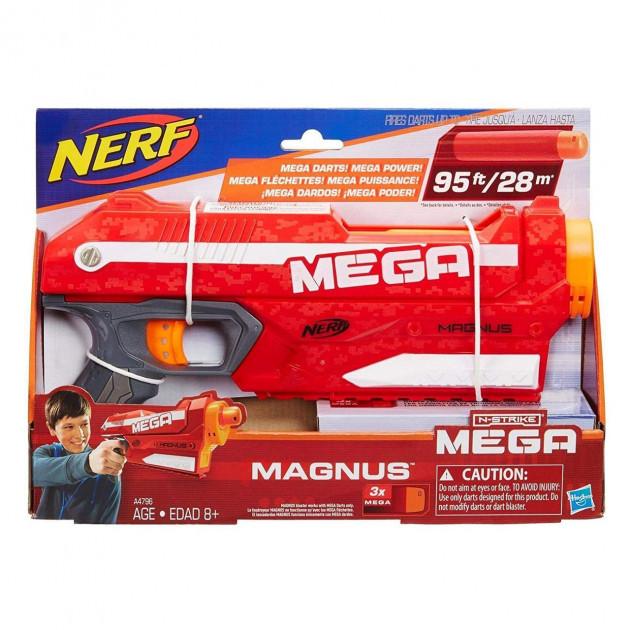 Іграшкова зброя з м'якими кулями Hasbro Nerf Мега Магнус