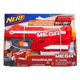Игрушечное оружие  с мягкими пулями Hasbro Nerf Мега Магнус