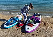 "Сапборд Red Paddle Co Ride SE 10'6"" x 32"" 2021 - надувна дошка для САП серфінгу, sup board, фото 10"