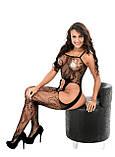 Сексуальний комбінезон сексуальный комбинезон боди сетка в упаковке эротическое белье, фото 7