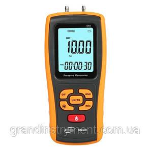 Диференціальний микроманометр USB, ±10 кПа BENETECH GM510