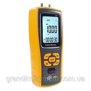 Диференціальний микроманометр USB, ±10 кПа BENETECH GM511