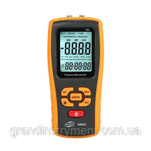 Дифференциальный микроманометр USB, ±2,49 кПа  BENETECH GM505