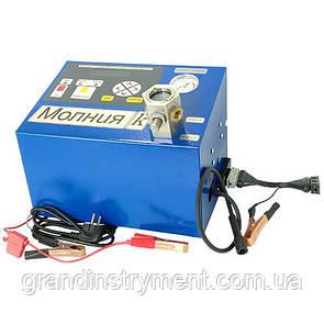 """Установка для проверки свечей и коммутаторов """"Молния-К""""  (220В) с компрессором"""